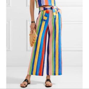 Mara Hoffman Painted Rainbow Strip Pant